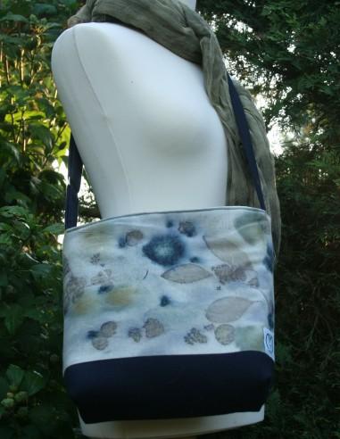 Ecoprint táska sötétkék